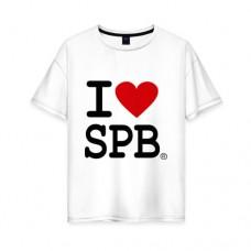 "Футболка ""I Love SPb"" с Любовью из Петербурга"