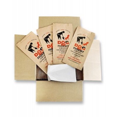 """Набор """"Карантинный""""  - биоразлагаемые пакеты для собак. 300 шт. Доставка включена***"""